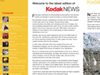Kodak - Quarterly Newsletter, Designed and produced