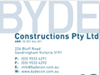Byde Constructions Corporate Identity