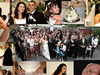 Des & Belinda's Wedding - Photography & collage (actual size 2m x 1.2m) produced by Ian Milne